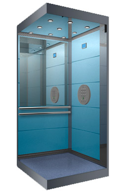 Модель лифта люкс-класса г/п 400 кг