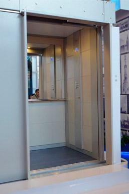 Модель лифта эконом-класса г/п 630 кг